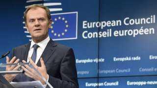 توسك: التمديد بات الحل المنطقي لاتفاقية خروج بريطانيا من البريكست