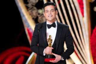 وزيرة الهجرة تهنئ رامي مالك أول مصري يحصل على جائزة الأوسكار