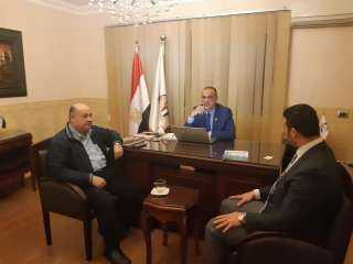 بالصور | إنضمام محمد قنديل ومحمد عيسى لحزب مصر الثورة