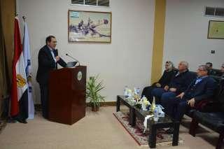 شاهد بالصور | المهندس طارق الملا وزير البترول فى زيارة هامة لفوسفات أبوطرطور