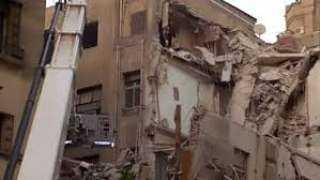 محافظ القاهرة يكشف آخر تطورات انهيار عقار قصر النيل