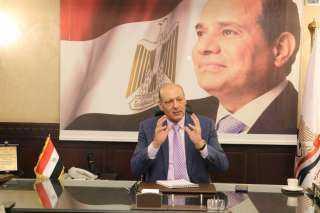 """رئيس حزب """"المصريين"""" يهنئ المهندس تيسير مطر بالانضمام للقائمة الوطنية من أجل مصر"""